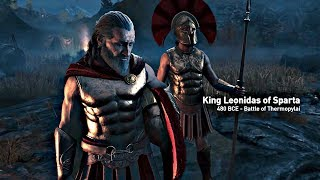 Assassins Creed Odyssey - Opening Cutscene Leonidas And 300 Spartans Assassins Creed 2018 4K HD