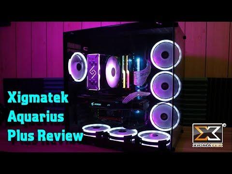 Xigmatek Aquarius Plus Review - Stunning Dual TG Case!