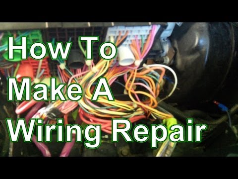 automotive wiring harness manufacturers com how to fix and repair automotive wiring harness