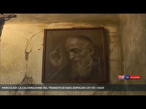 MERCOLEDI' LA CELEBRAZIONE DEL TRANSITO DI SAN LEOPOLDO | 27/07/2020