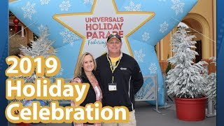 Doing All The Holiday Stuff at Universal Orlando | Macy's Parade and More