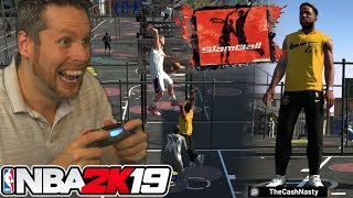 NBA 2K19 SLAMBALL MODE w/ CASHNASTY