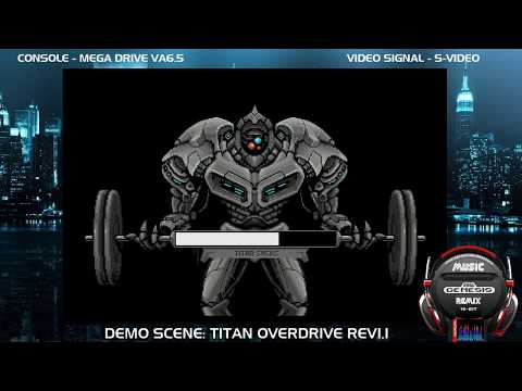 Demoscene: Titan Overdrive Rev 1.1 - Play Hardware Console (60FPS)