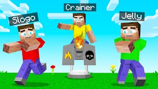 TROLLED My FRIENDS With INSANE TURRETS! (Minecraft)