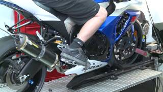 6. 2009 Suzuki GSX-R1000 on TBR Dyno