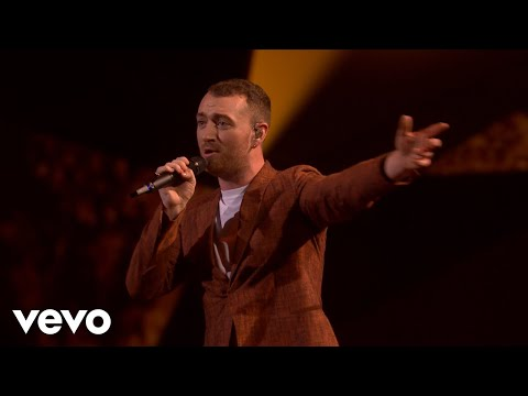 Sam Smith - Too Good At Goodbyes (Live at BRIT Awards 2018) (видео)