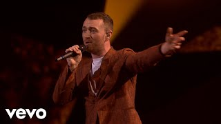 Video Sam Smith - Too Good At Goodbyes (Live at BRIT Awards 2018) MP3, 3GP, MP4, WEBM, AVI, FLV Mei 2018