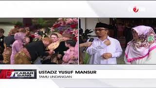 Video Yusuf Mansur: Untuk Seorang Presiden, Acara Pernikahan Anak Jokowi Ini Sederhana MP3, 3GP, MP4, WEBM, AVI, FLV November 2017