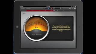 iPad  Garageband Audio Recording
