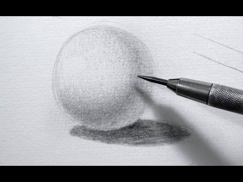 Cómo dibujar sombras - cómo hacer el sombreado