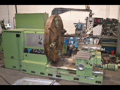 Facing Lathe TADU FS-750 1988