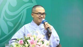 Khóa tu Tuổi Trẻ Hướng Phật- Gương Sáng 4: Diễn viên- MC: Đại Nghĩa