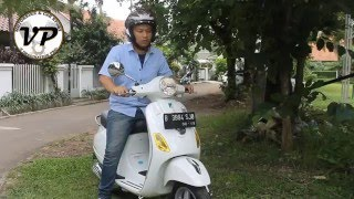 2. Piaggio (Vespa) LX150 Quick Review
