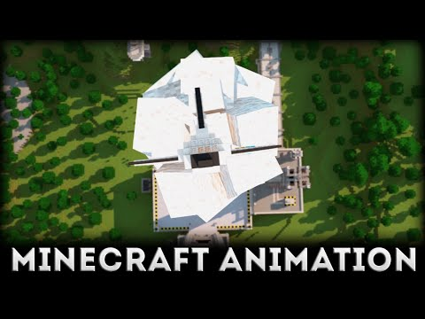 The First Adventure in Space - Minecraft Animation - SpikeFeed and Cheepatun