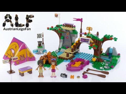 Vidéo LEGO Friends 41121 : Rafting à la base d'aventure