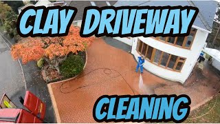 Clay Driveway Cleaning Dorset
