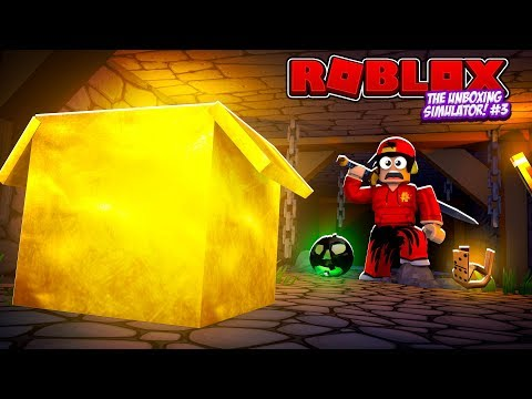 ROBLOX - UNBOXING SIMULATOR #3, MYSTERY DUNGEON?!!!