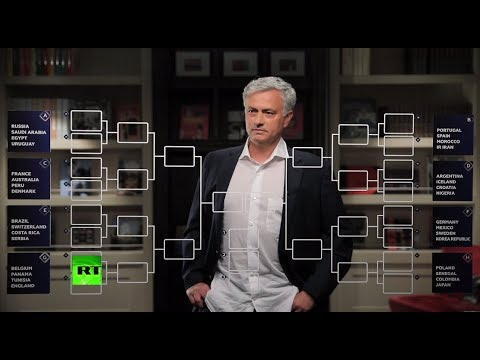 José Mourinho: Inside crystal foot-ball. Predictions for Group Stage in World Cup 2018 (видео)