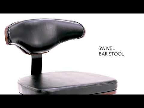 Adjustable Height Barstool