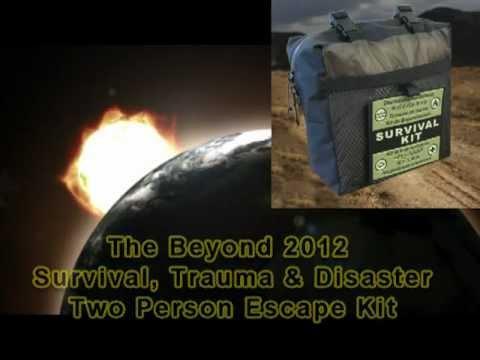 Beyond 2012 Survival & Trauma TWO Person Escape Kit.mpg