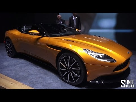 ASTON MARTIN DB11 | FIRST LOOK | GENEVA 2016 @Shmee150 @astonmartin