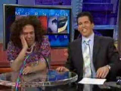 Gilbert Gottfried annoys a sports anchor who looks like him Video