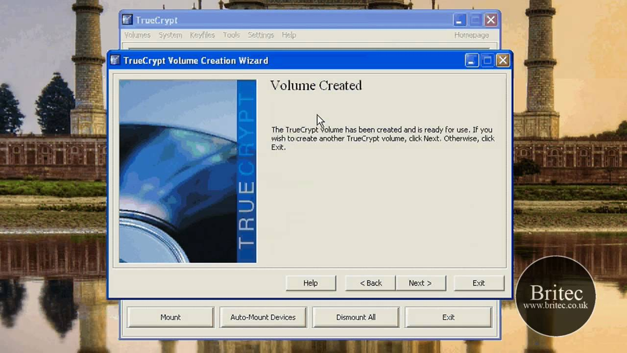 Free Disk Encryption Software TrueCrypt 6 3 by Britec