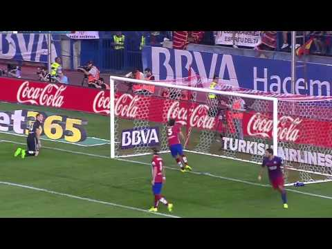 atletico madrid barcellona - 1 a 2 - liga 2015/2016