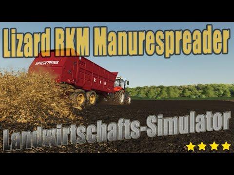 Lizard RKM Manurespreader v1.0.0.0
