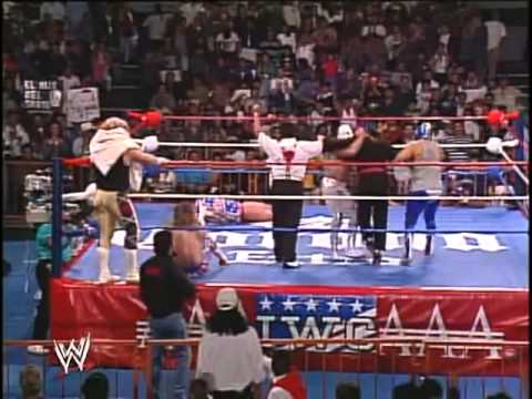 Santo - Double Mask vs Hair Match. One of the greatest lucha matches of all time. 2 of the biggest faces against 2 of the best heels in lucha. Watch alongisde the el...
