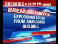 Bankura: 2550 kg explosives recovered from 51 plastic bags at an abandoned building in Bengal - Video
