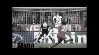 David Alabas Tore für den FC Bayern München (2012/13)