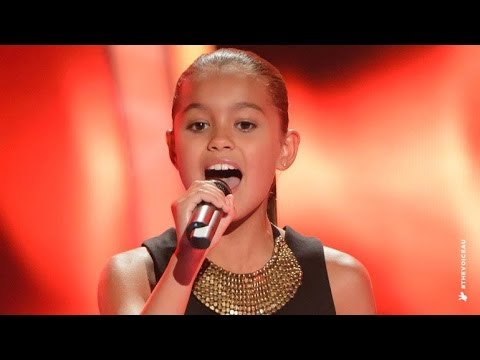 Alexa Sings Girl On Fire, The Voice Kids Australia 2014
