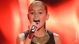 Alexa Sings Girl On Fire | The Voice Kids Australia 2014 - YouTube