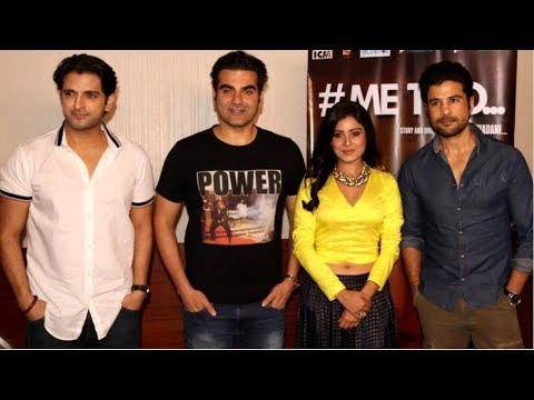 Arbaaz Khan At Premier Of Upcoming Short Film Titled #ME TOO...