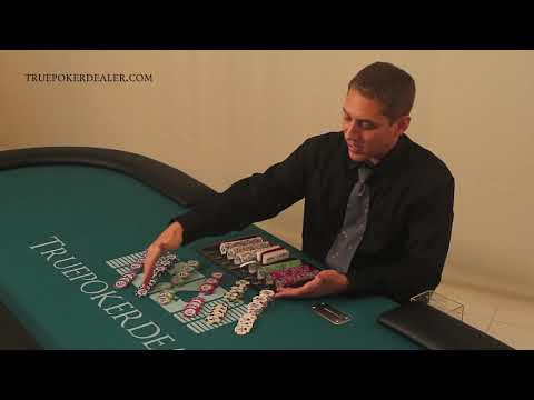 How to Deal Poker - How to Cut Chips