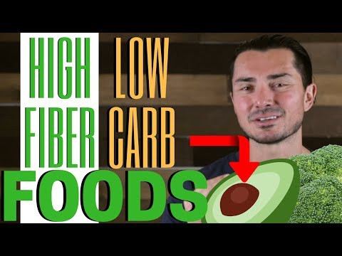 TOP 3 BEST High-Fiber and Low-Carb Foods in 2018