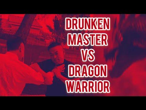 drunken master vs dragon warrior  / inspired jackie chan style / 醉拳VS 龙拳