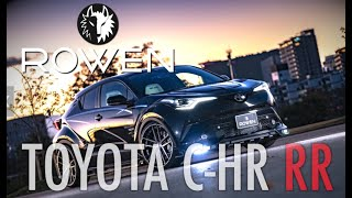 TOYOTA C-HR Exhaust Sound & Bodykit by Rowen Japan