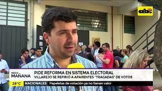 Piden Reforma en sistema electoral