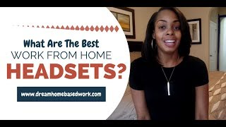 Are you wondering which work from home headsets are the best to use? In today's video you will learn about 3 of the most popular headsets: Plantronics S12, Plantronics T10, Logitech Clearchat H390 USB Headset. To purchase these headsets, go to the link below at Amazon:1. Plantronics S12 http://amzn.to/2rmkxkM2.Logitech Clearchat H390 USB Headset http://amzn.to/2rlKUrj3. Plantronics T10 http://amzn.to/2rlJ9KASee this blog post for a list of 57 #workfromhome phone jobs, http://www.dreamhomebasedwork.com/57-work-from-home-phone-jobs/______________________________________________________HOT #JOB ALERT!The Chat Shop is Hiring Chat Agents to work from home. Must be able to type a minimum of 80 wpm before applying. To submit your app, go here http://www.thechatshop.com/jobs/live-chat-agent#ENTERTOWIN A LOGITECH T10 HEADSEThttps://gleam.io/wApKC/plantronics-t10-headset-giveaway ** I will announce winners on Friday, June 23, 2017. Good Luck to everyone!FOLLOW ME AROUNDF: https://www.facebook.com/DreamHomeBasedWorkT: https://twitter.com/dhbw_fansP: http://www.pinterest.com/legitworkathome/