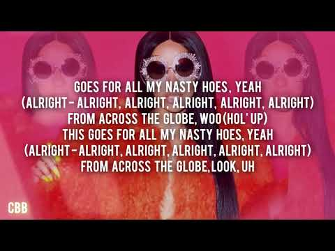 Cardi B — Bickenhead (Lyrics Video) HD