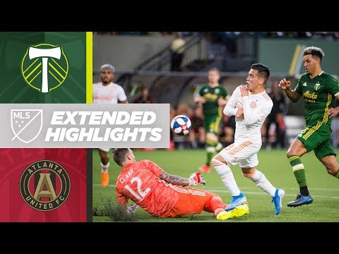 Video: Portland Timbers vs. Atlanta United FC | HIGHLIGHTS - August 18, 2019