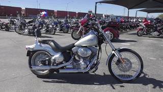 5. 056158 - 2006 Harley Davidson Softail Standard   FXSTI - Used motorcycles for sale