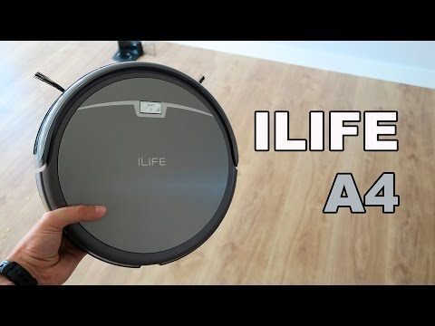ILIFE A4, review de un robot aspirador económico