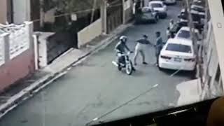 Cronista deportivo fue asaltado junto a su hijo y otro familiar; hubo tres disparos en la escena