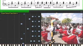 Czardas - Vittorio Monti (piano tutorial) Чардаш - В. Монти (Ноты,Видеоурок)