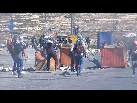 Δυτική όχθη: Συγκρούσεις παλαιστινίων με Ισραηλινούς στρατιώτες…
