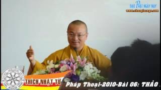 Logic Phật giáo (2010) - Bài 6: Thảo luận bốn lỗi của lý do - TT. Thích Nhật Từ