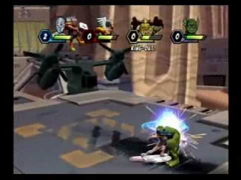 marvel super hero squad on pcsx2 0.9.6 - playstation 2 emulator